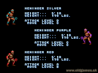 Golden Axe Full character and monster list (images) :: DJ