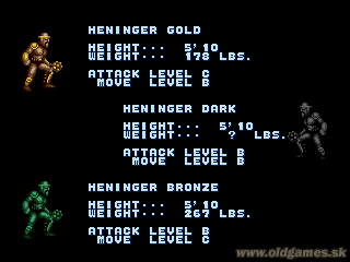 Golden Axe Full character and monster list (images) :: DJ OldGames