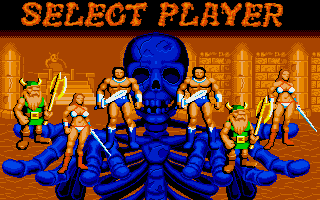 Amiga - Select Player