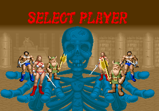 Arcade - Select Player
