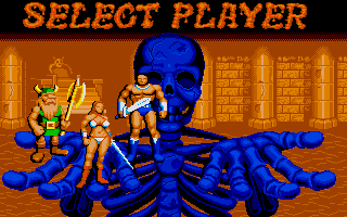 Atari ST - Select Player