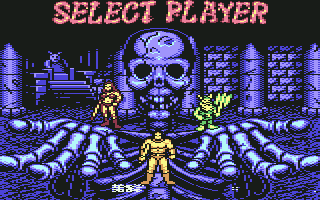 Commodore 64 - Select Player