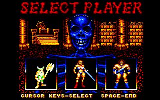 Amstrad CPC - Select Player