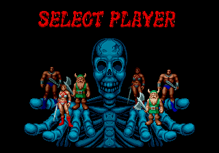Mega Drive - Select Player