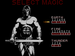 Master System - Select Player