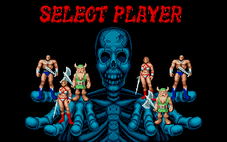 PC DOS - Select Player