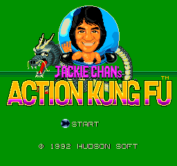 Play online Jackie Chan for TurboGrafx-16