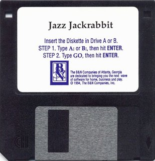 Jazz.Jackrabbit - Floppy Disk