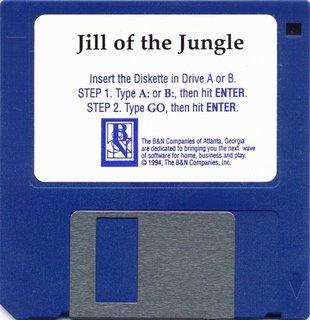 B&N release (US) - Floppy disk 3,5