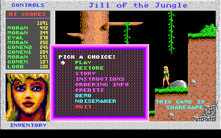 Jill of the Jungle -