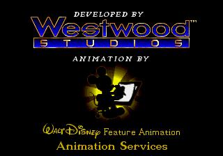 SEGA Genesis, Westwood logo