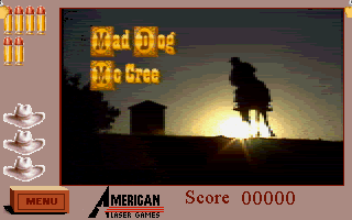 Mad Dog McCree - PC DOS, TItle