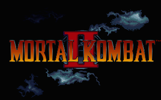 Mortal Kombat II - PC DOS, Title