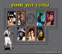 SNES, Choose your fighter