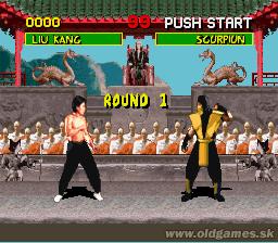 SNES, Liu Kang vs Scorpion