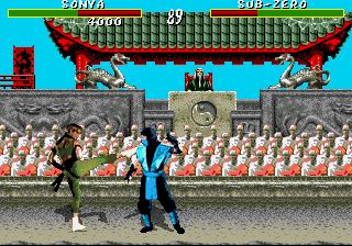 Genesis, Sonya vs Sub-Zero