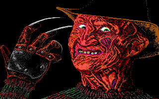 Nightmare On Elm Street, A - PC DOS, Freddy Krueger