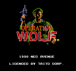 Play online Operation Wolf for TurboGrafx-16