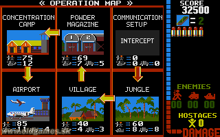 PC DOS, Stage 2 - Jungle