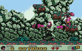 DOS, Leve 3 - Boss (cracked 'hybrid' version)
