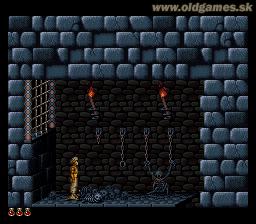 SNES, Begining in dungeon...
