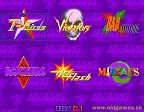 Arcade, Select Team