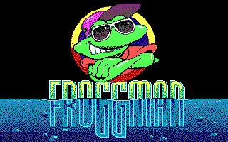 Froggman release, Logo