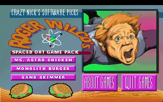 Roger Wilco's Spaced Out Game Pack -