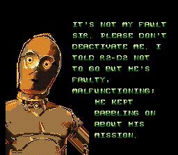 NES, C3PO