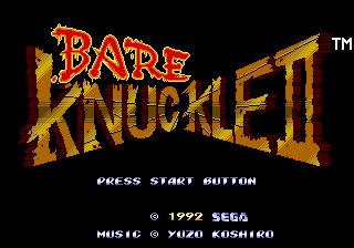 Genesis, Bare Knuckle II