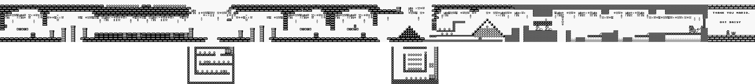 Super Mario Land Maps Game Boy Png Dj Oldgames