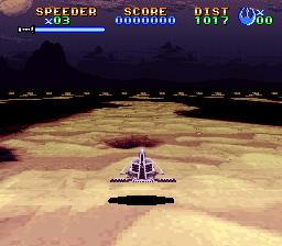 SNES, Landspeeder - Gameplay