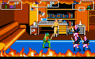 PC DOS, Gameplay
