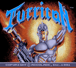 Play online Turrican for TurboGrafx-16