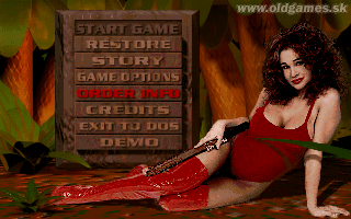Vynil in Main Menu
