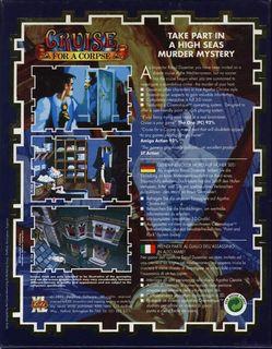 CD-ROM KIXX release - Box scan - Back