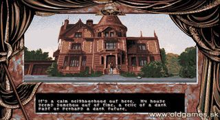 Dark Seed - PC DOS, Mike's mansion