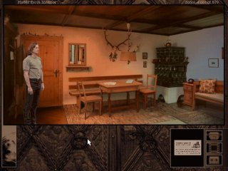 Gabriel Knight 2: The Beast Within - Gabriel Knight - Huber Farm Interior