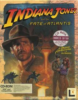 BOX Front - Indiana Jones and the Fate of Atlantis