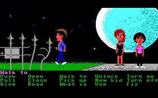 Maniac Mansion - PC DOS