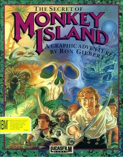 Monkey Island - Box scan - Front
