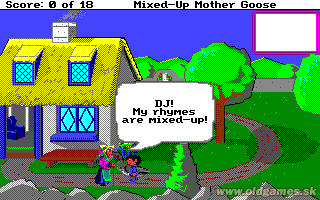 Mixed-Up Mother Goose (Enhanced) - Amiga, Start game...