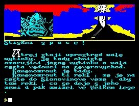 ZX Spectrum, Pjörnrachzarck - Kamenozrut CZ