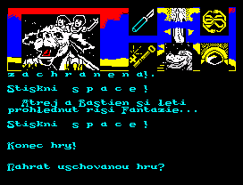 ZX Spectrum, Game Over CZ
