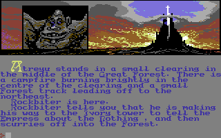 Neverending Story, The - Commodore 64, Start game...