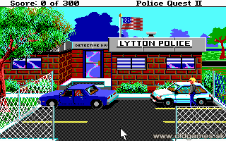 Police Quest 2: Vengeance - PC DOS