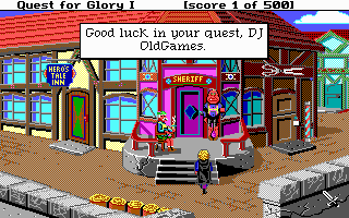 Hero's Quest: So You Want To Be A Hero - PC DOS