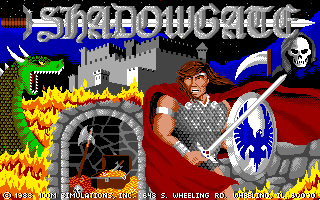 Shadowgate - Apple IIgs, Title