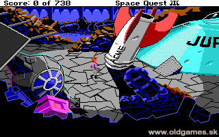 Space Quest 3: The Pirates of Pestulon - PC DOS