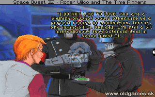 Space Quest 4: Roger Wilco and the Time Rippers -